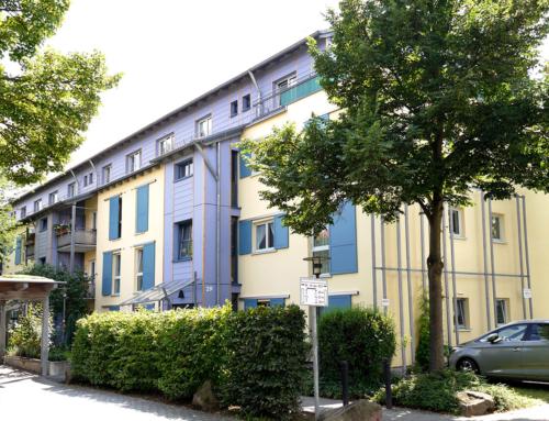 """Niedrigenergiehaus Wohnanlage """"Am Dorf"""", Stadt Heidelberg"""